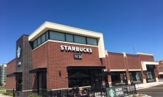 Multi-Tenant Starbucks Drive-Thru