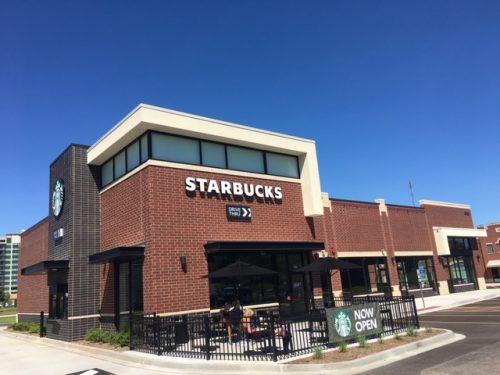 Multi-Tenant Starbucks Drive-Thru